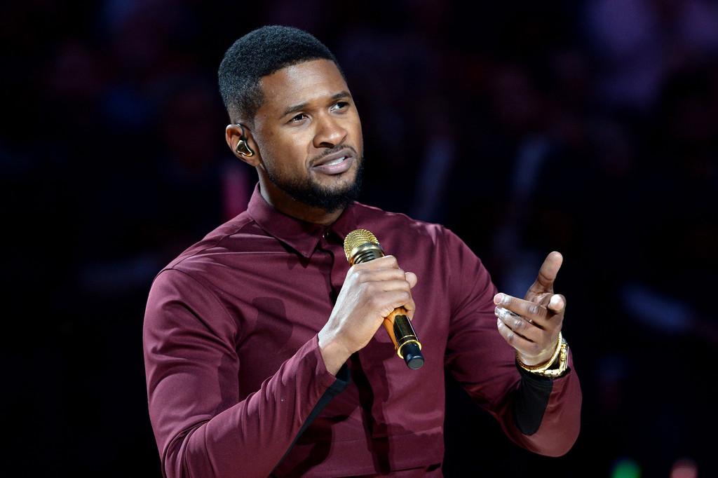 Usher+New+York+Knicks+v+Cleveland+Cavaliers+1eQs15XxMF2x