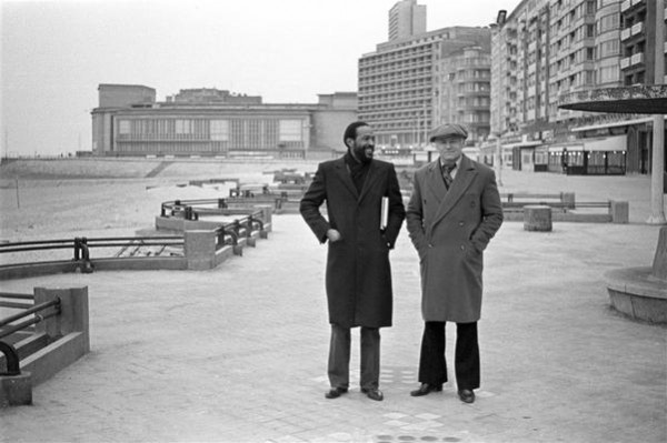 Marvin Gaye & Freddy Coussaert; Ostend; 1982