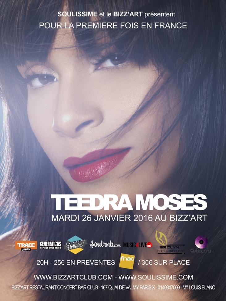 Teedra Moses Bizz'Art