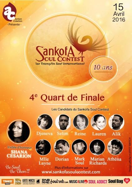 Affiche Sankofa Soul Contest Verso