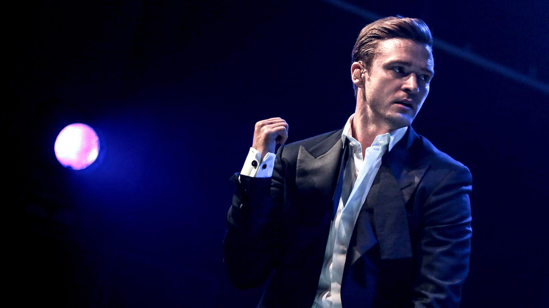 Netflix publie le concert-film « Justin Timberlake + The ... Justin Timberlake Tour 2016