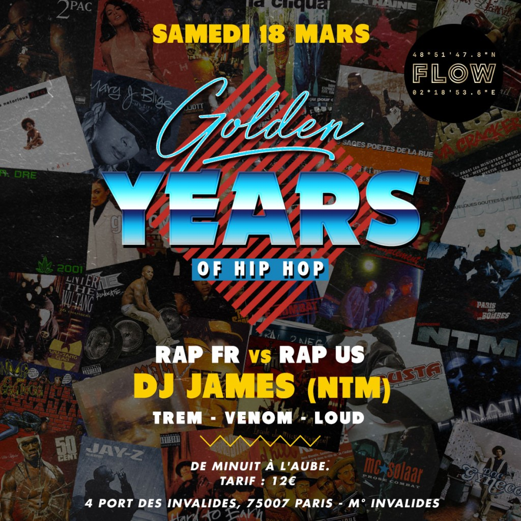 flyer golden flow
