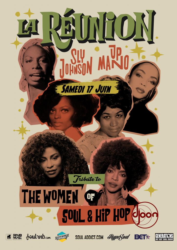 FLYER - La Réunion Party_the women of soul - hip hop partenaires