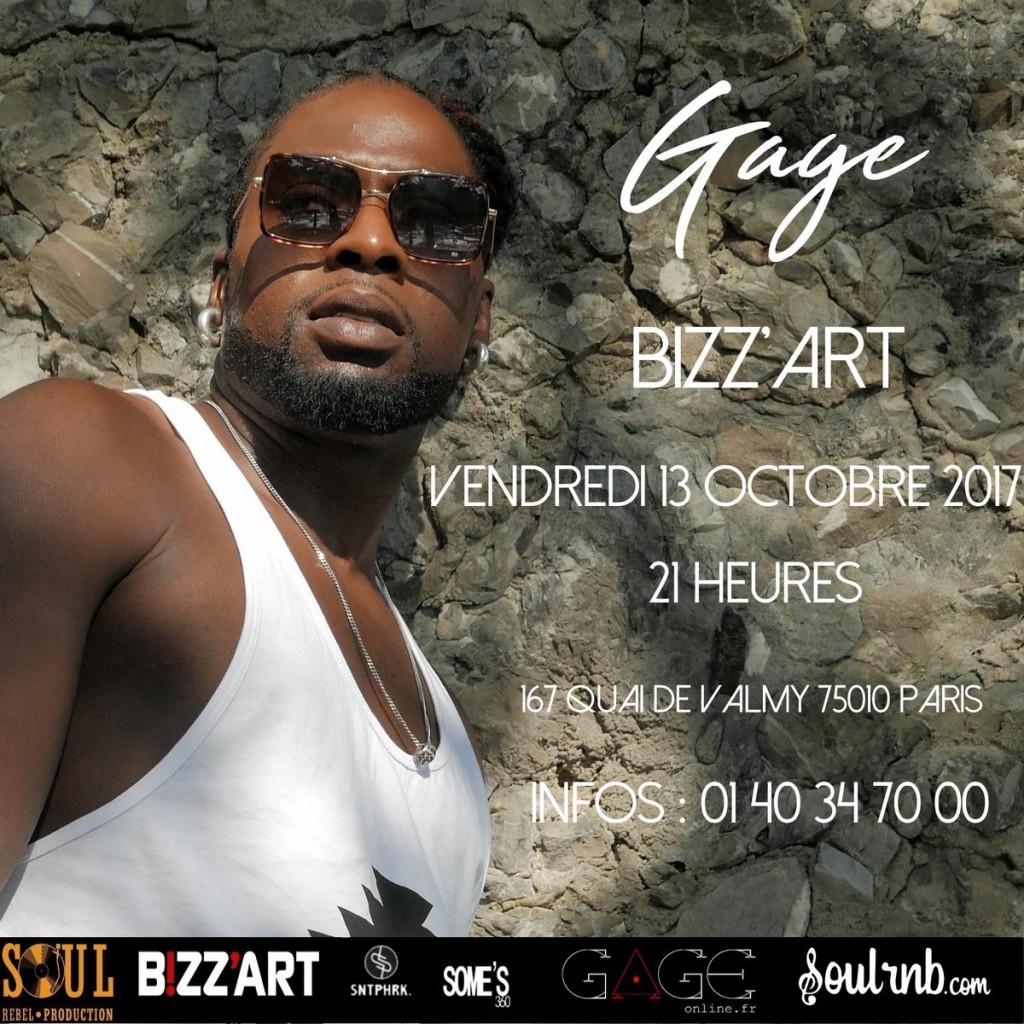 Gage Bizz'Art